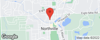 Map of 414 North Ctr in Northville