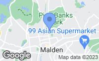 Map of Malden, MA