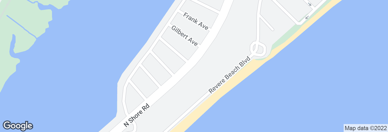 Map of N Shore Rd opp Blanchard Ave and surrounding area