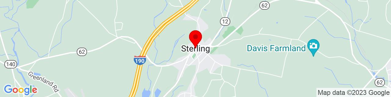 Google Map of 42.4374156, -71.76062929999999
