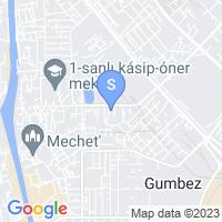 Расположение гостиницы Алсис на карте