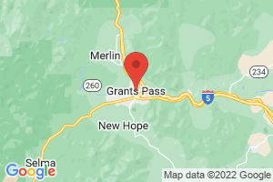 Map of Grants Pass