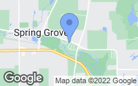 Map of Spring Grove, IL