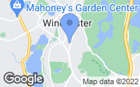 Map of Winchester, MA