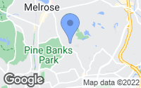 Map of Melrose, MA