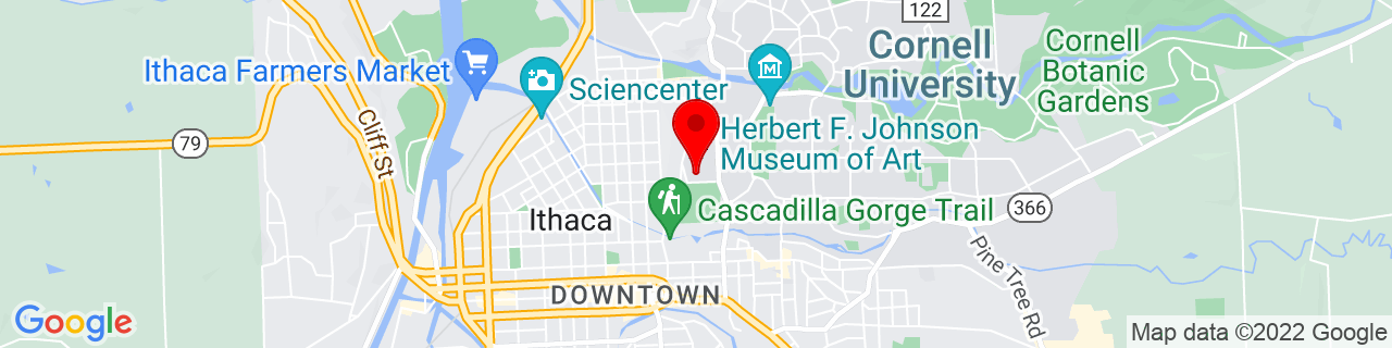 Google Map of 42.446598, -76.491991