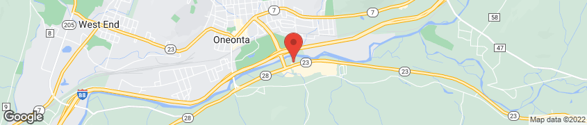 Map of 4979 State Hwy 23 in Oneonta