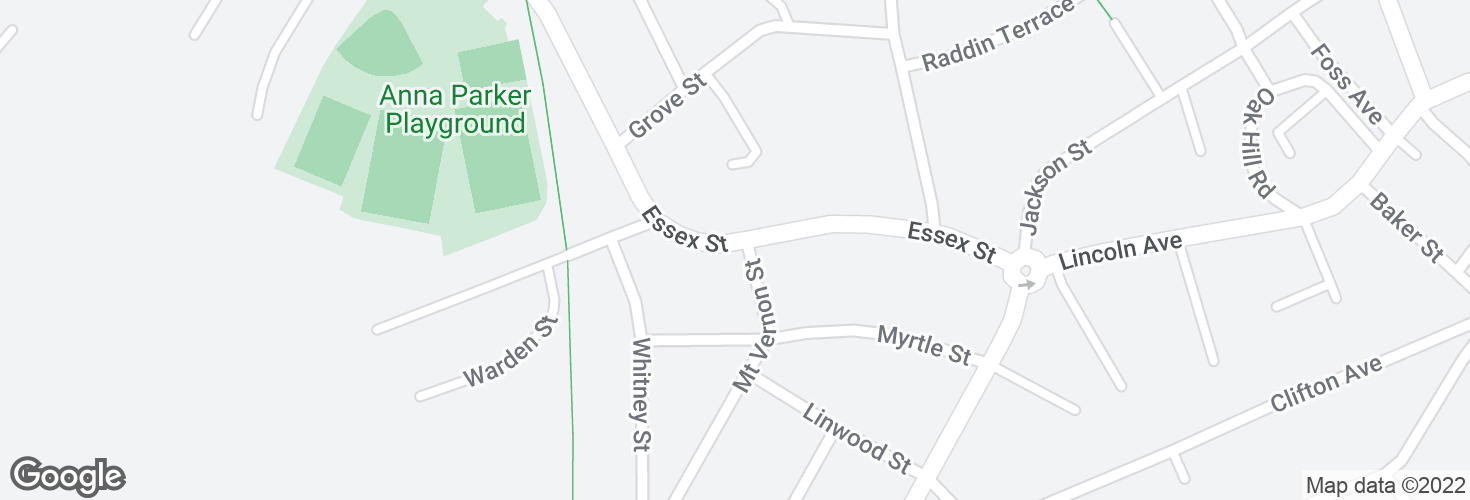 Map of 78 Essex St and surrounding area