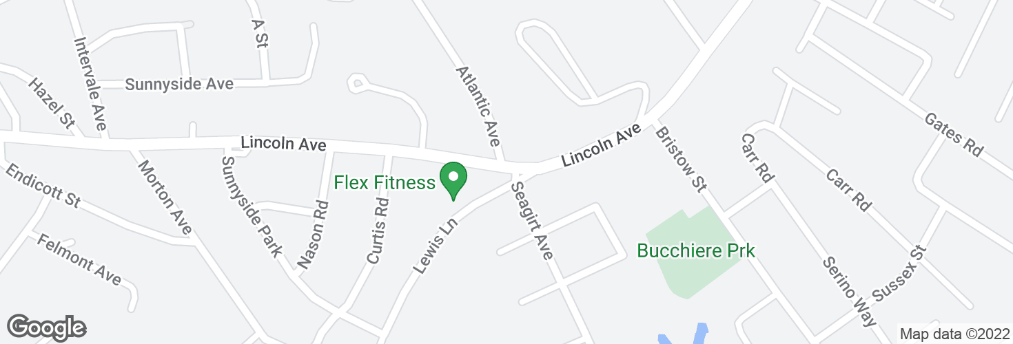 Map of Lincoln Ave opp Atlantic Ave and surrounding area