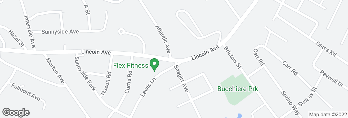 Map of Lincoln Ave @ Atlantic Ave and surrounding area