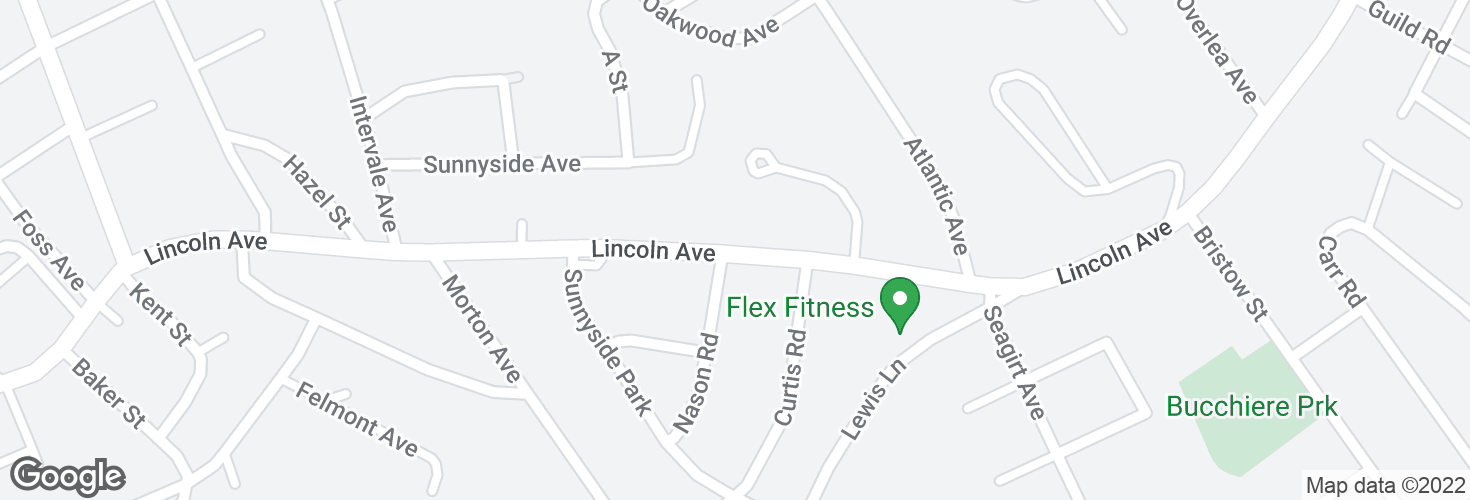 Map of Lincoln Ave opp Nason Rd and surrounding area