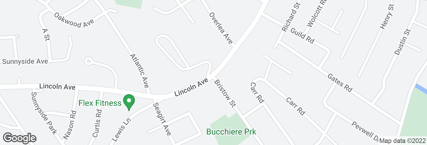 Map of Lincoln Ave opp Bristow St and surrounding area