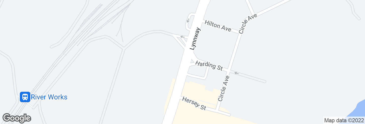 Map of 715 Lynnway and surrounding area