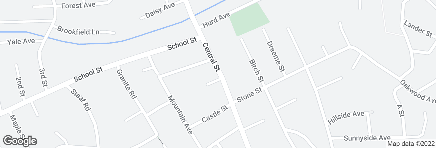 Map of Central St @ Still Dr and surrounding area