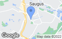 Map of Saugus, MA