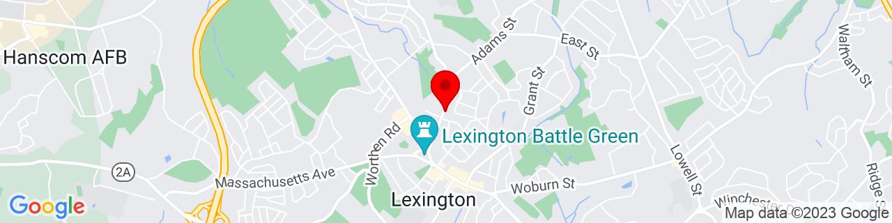 Google Map of 42.4534494, -71.228185