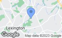 Map of Lexington, MA