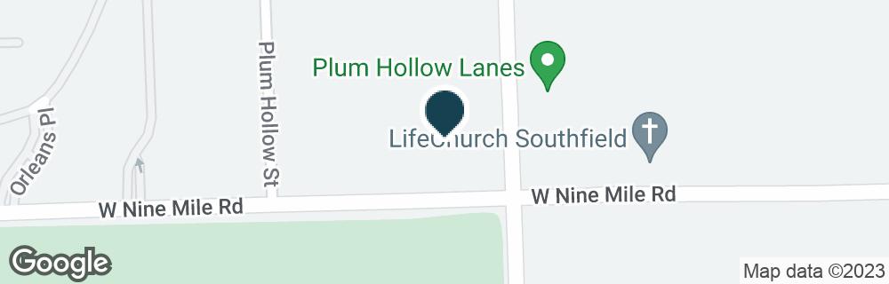 Google Map of23111 LAHSER RD