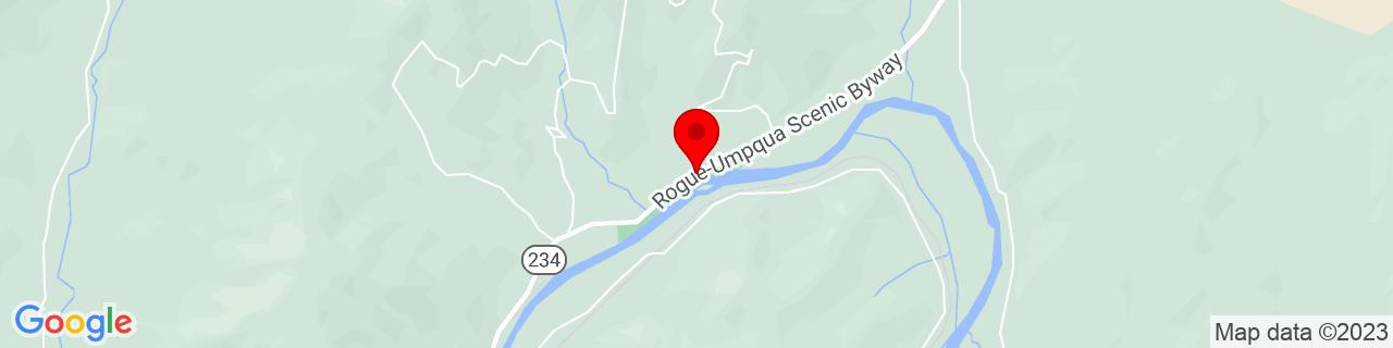 Google Map of 42.4586739, -123.026749