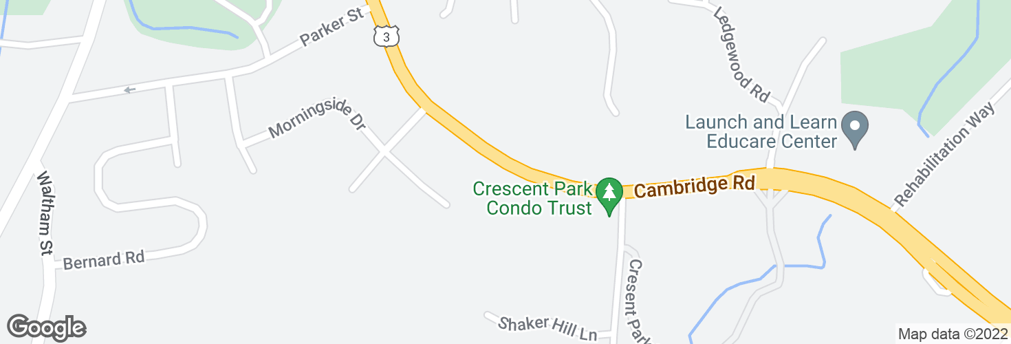 Map of 259 Cambridge Rd and surrounding area