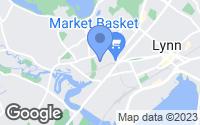 Map of Lynn, MA