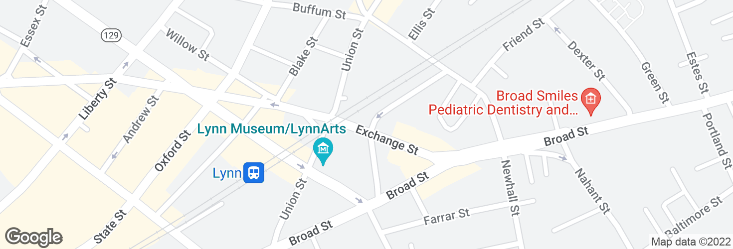 Map of Mt Vernon @ Exchange St and surrounding area
