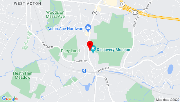 Google Map of 177 Main Street, Route 27, Acton, MA 01720