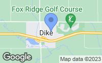 Map of Dike, IA