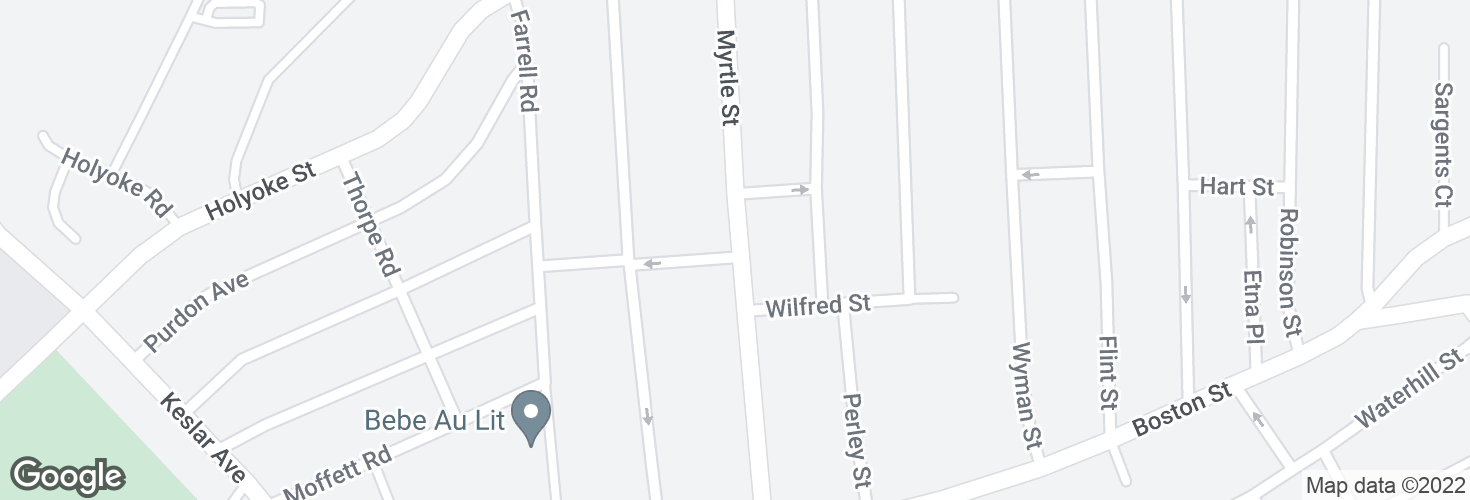Map of Myrtle St @ Florence St and surrounding area