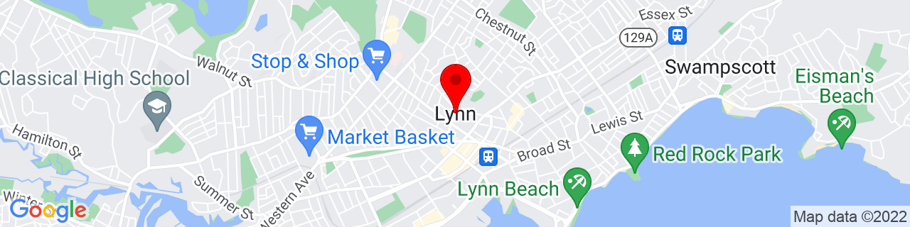 Google Map of 42.46676, -70.94949