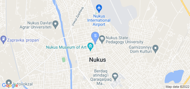 Location of Karakalpak Palace on map