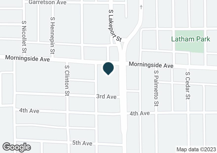 Google Map of4650 MORNINGSIDE AVE