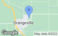 Map of Orangeville, IL