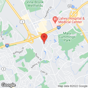 Map of Bed Bath & Beyond at 3 Abbott Park, Burlington, MA 01803