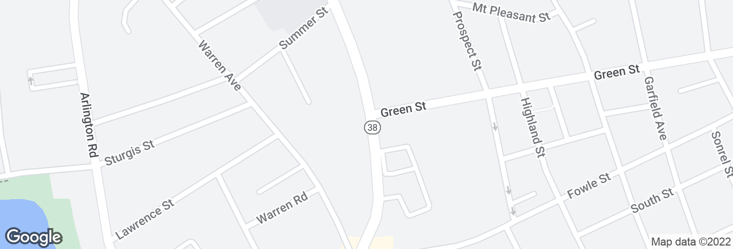 Map of 226 Main St opp Green St and surrounding area