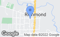 Map of Richmond, IL