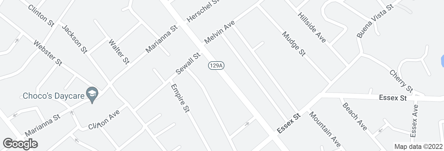 Map of 294 Eastern Ave and surrounding area