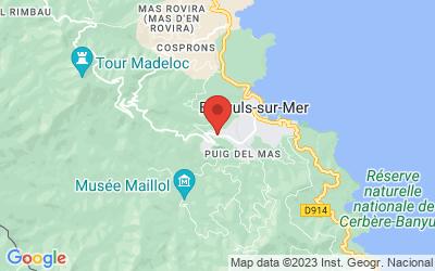 Route du Mas Reig, 66650 Banyuls-sur-Mer, France