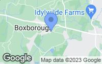 Map of Boxborough, MA