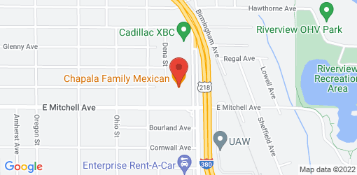 Directions to Chapala Family Mexican Restaurant