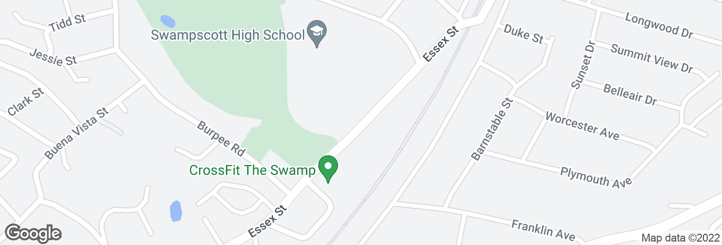 Map of Essex St @ Jackson Pk and surrounding area