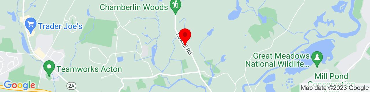 Google Map of 42.47985509999999, -71.368693