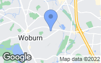 Map of Woburn, MA
