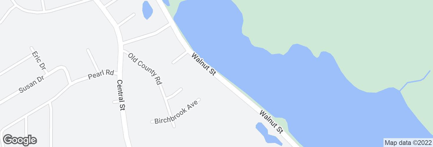 Map of Opp 323 Walnut St and surrounding area