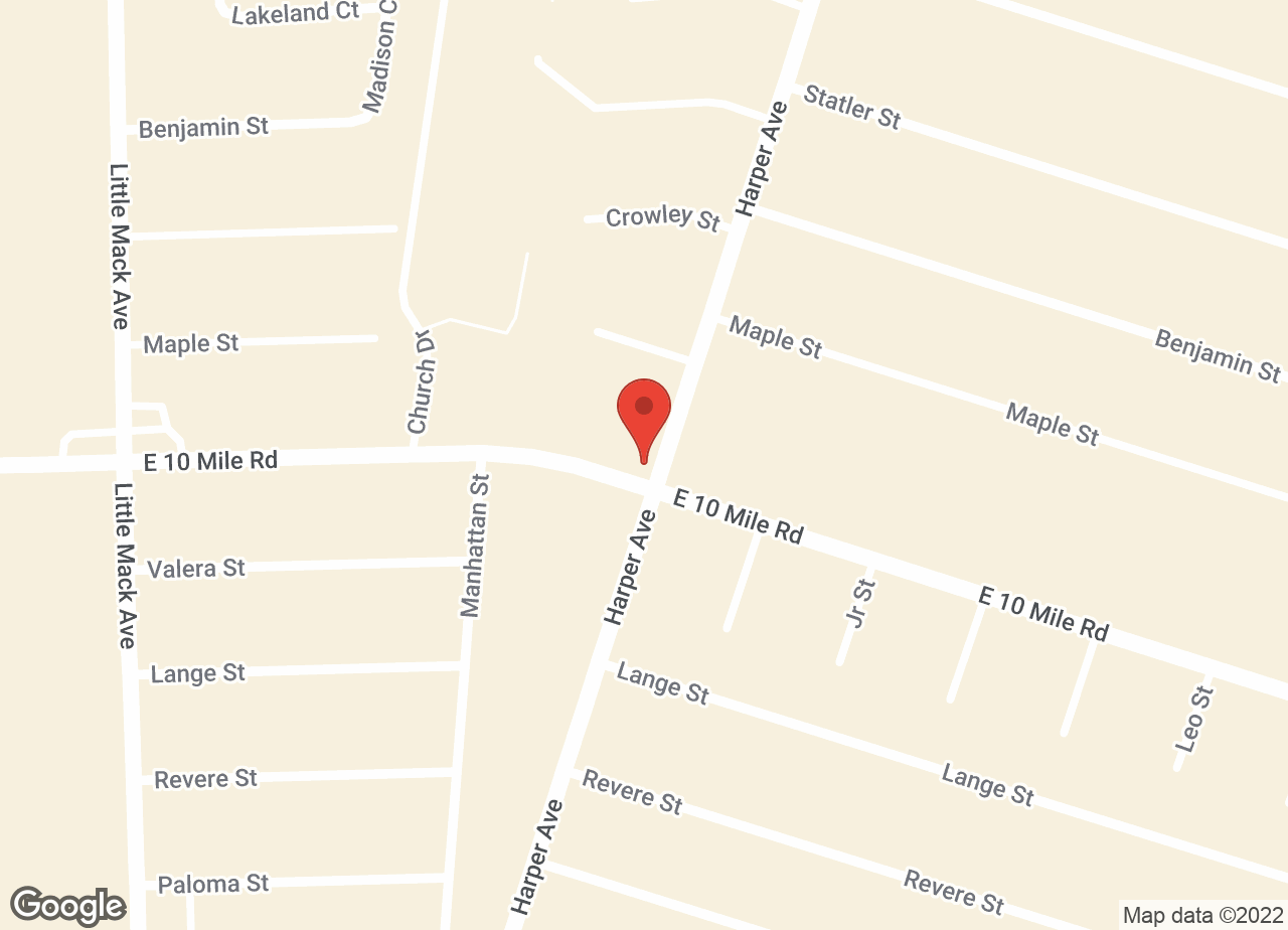 Google Map of VCA St. Clair Shores Animal Hospital