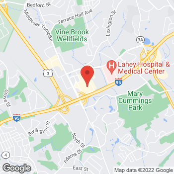 Map of BCBGeneration at Macy's at 1300 Middlesex Turnpike, Burlington, MA 01803