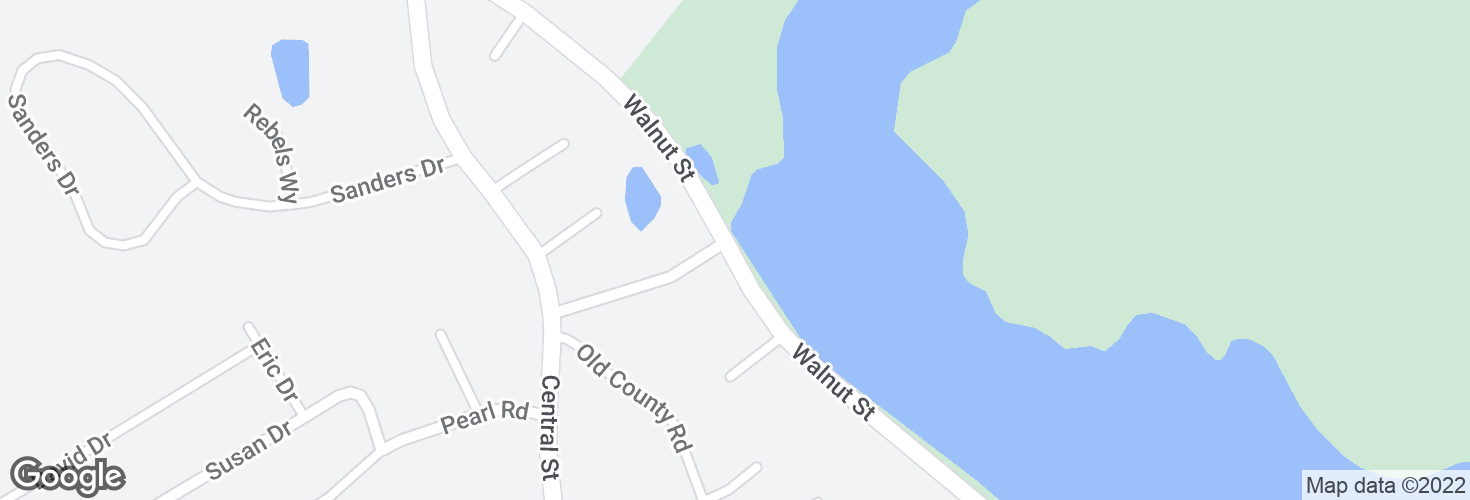 Map of Walnut St opp Birchwood Ave and surrounding area