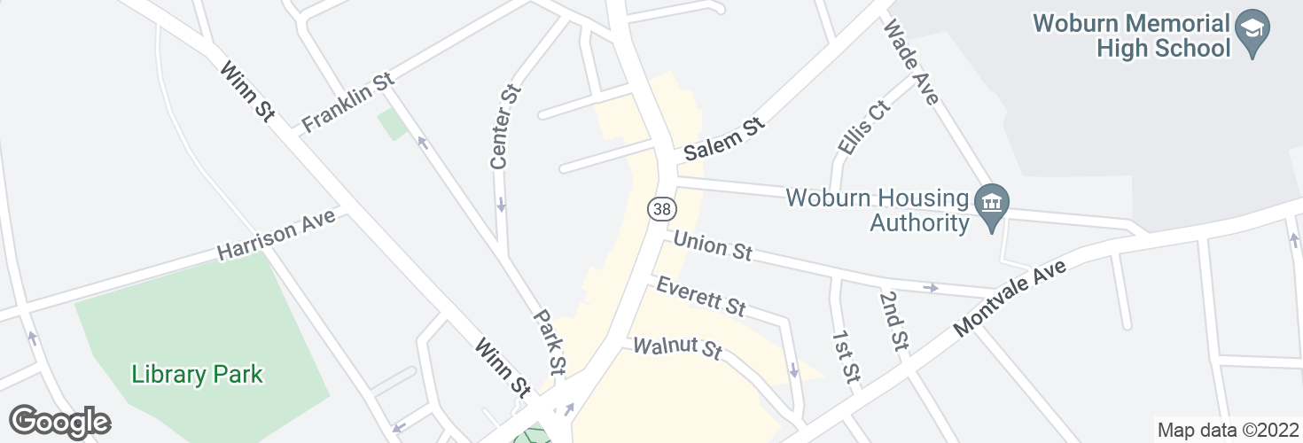 Map of 466 Main St opp Union St and surrounding area