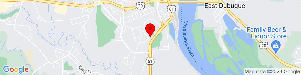 Google Map of 42.4821304, -90.66801129999999