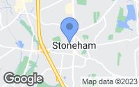Map of Stoneham, MA